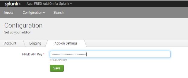 FRED API Key Setup