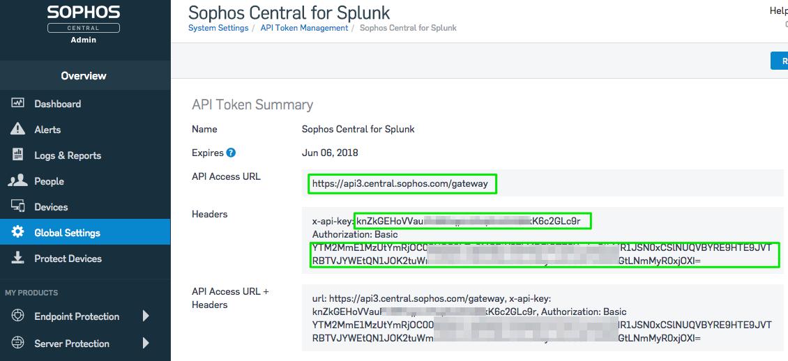 Sophos Central app for Splunk | Splunkbase