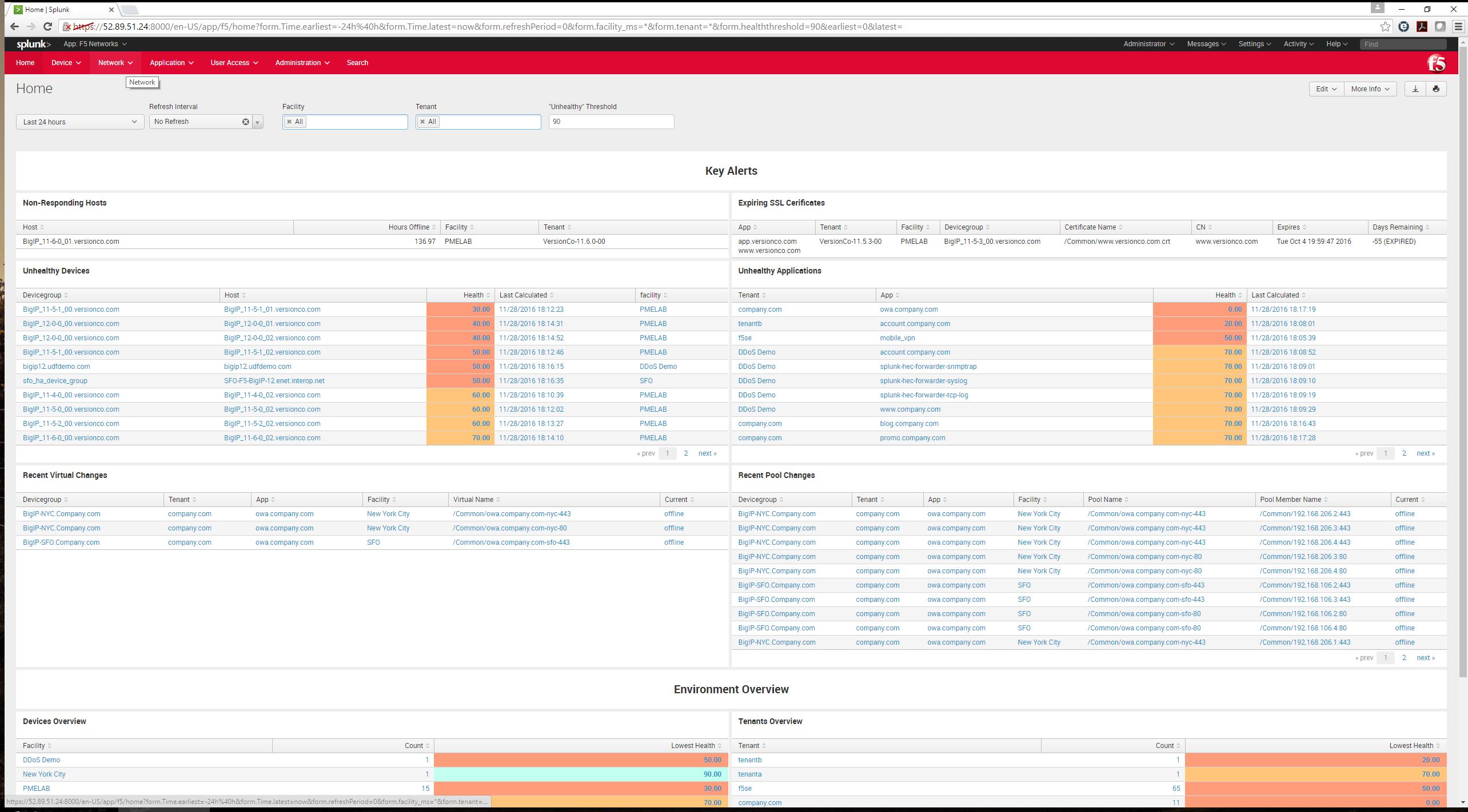 F5 Networks - Analytics (New)   Splunkbase