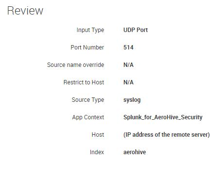 AeroHive Security   Splunkbase